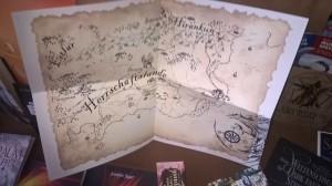 Die Karte der Herrschaftslande