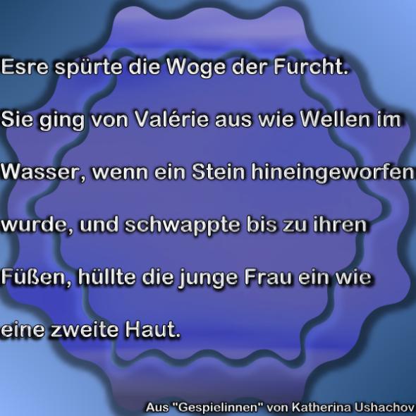 """Leseprobe aus """"Gespielinnen"""""""